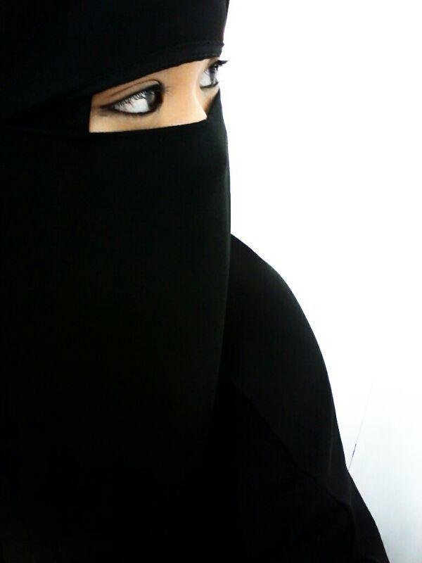 Beautiful Niqab Muslimah