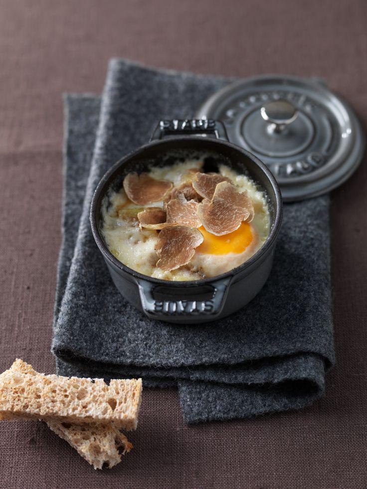 cocottine di uova tartufate ricetta