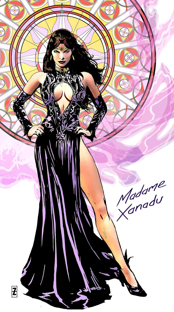 Awesome Madame Xanadu by Patrick Zircher