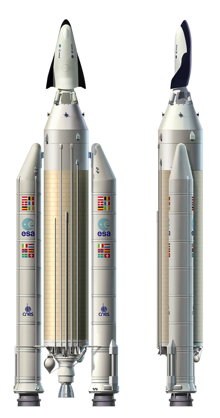 Europe - Plan for launch on Ariane 5