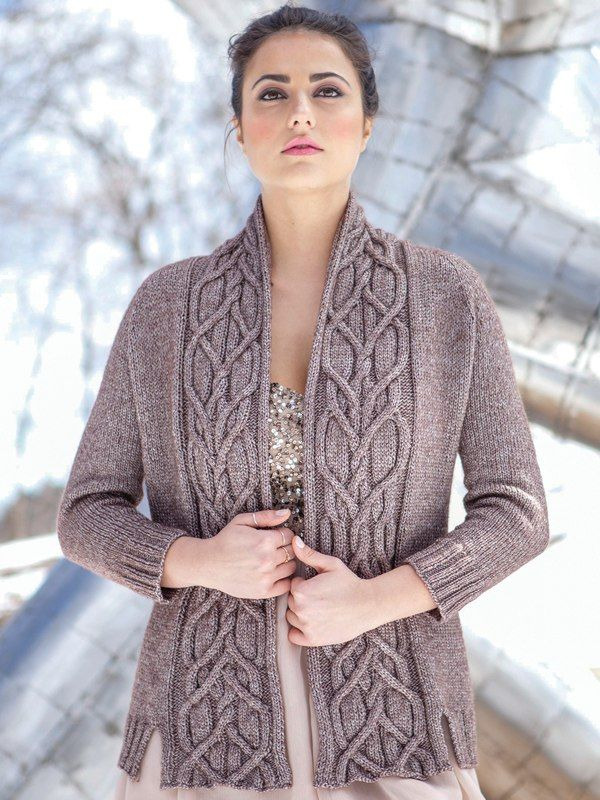 Open Knit Sweater Pattern : Merle Berroco, Norah Gaughan vol 13, Top down. Location ...