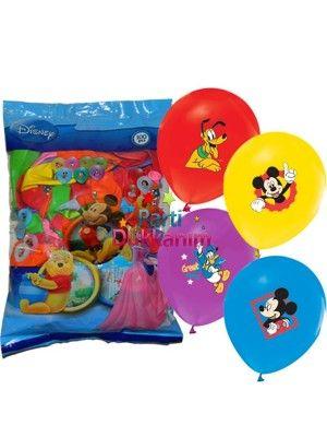 Mickey Mouse Balon Club 100 Adet