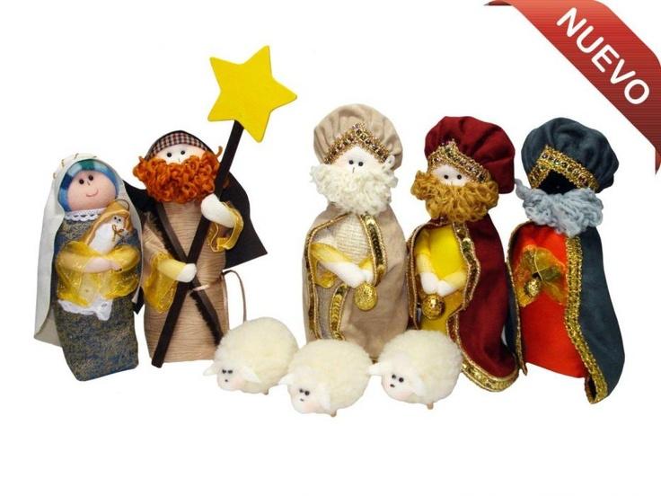 Figuras para pesebres, ideales para la decoración de la temporada de fin de año, consiguelo en www.nuestratienda.com.co