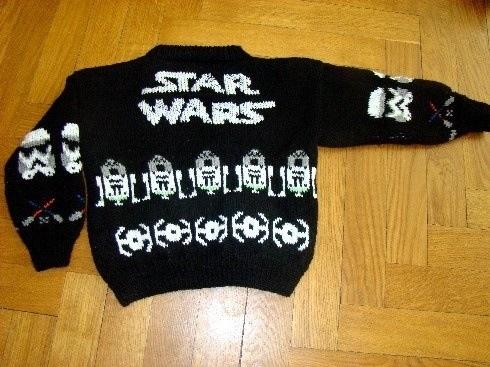 star wars sweater star wars pinterest. Black Bedroom Furniture Sets. Home Design Ideas