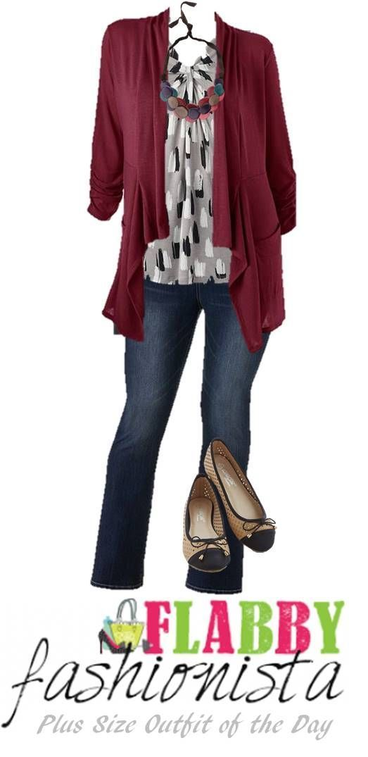 nice Plus Size Outfit of the Day – Winter to Spring Casual