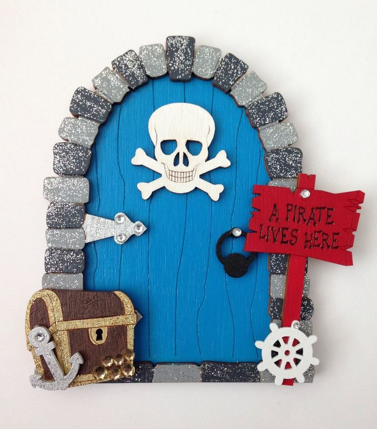 A personal favourite from my Etsy shop https://www.etsy.com/uk/listing/290783987/pirate-fairy-pixie-door