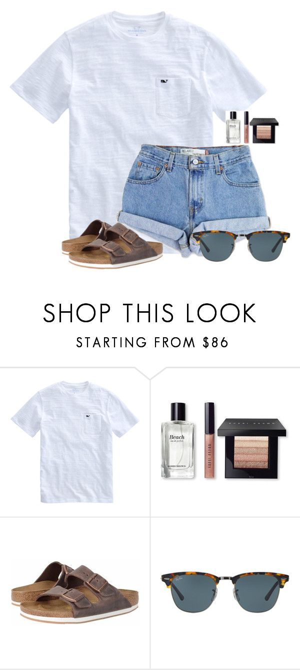 Just got a mani/pedi  by flroasburn on Polyvore featuring Levis, Bobbi Brown Cosmetics, Birkenstock and Ray-Ban