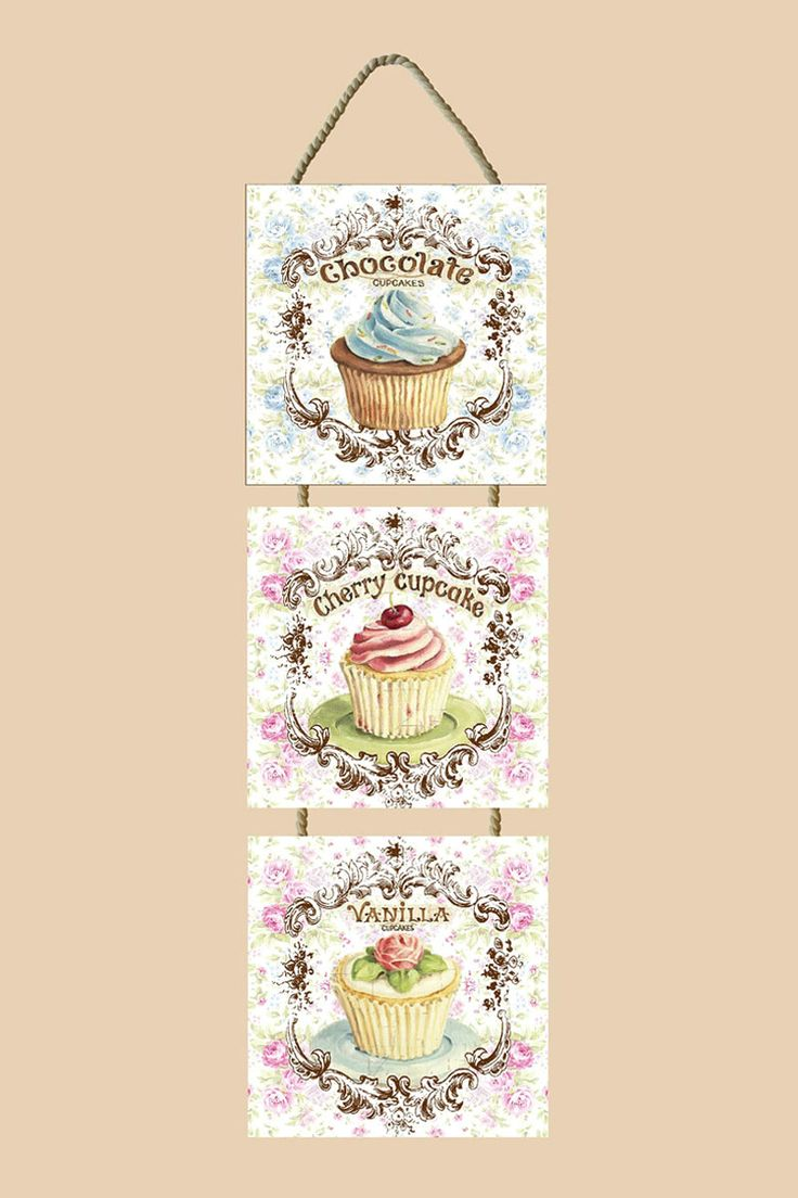cupcake frame for kitchen