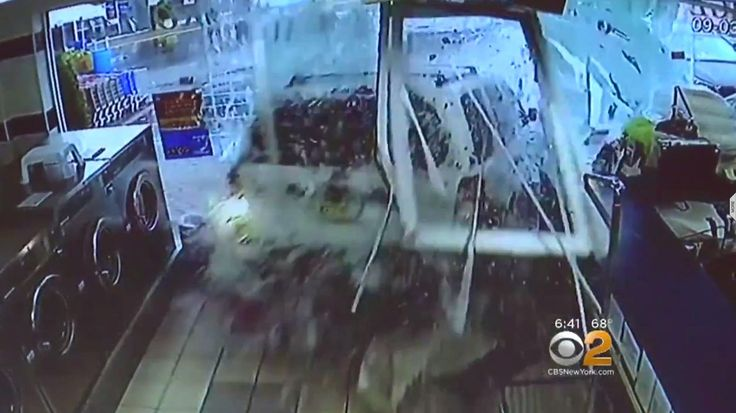 NEW YORK — Six people were rushed to the hospital after a sport-utility vehicle plowed into a laundromat on Staten Island Sunday morning. CBS New York spoke exclusively with one of the victims of the crash. Police say the 74-year-old driver may have mixed up the gas and brake pedals when... - #Accident, #Apparent, #Driver, #Laundromat, #News, #Plows