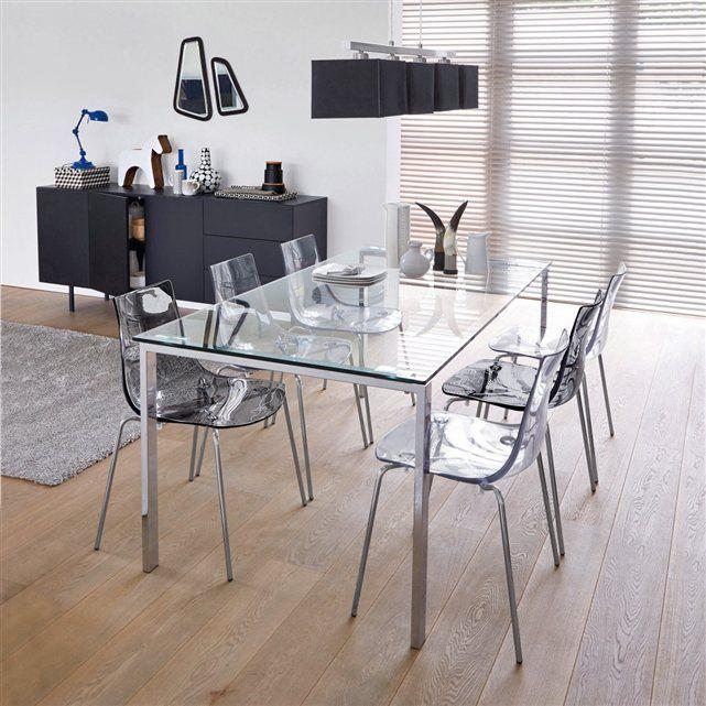 Chaise design coque translucide (lot de 2), Joan La Redoute Interieurs