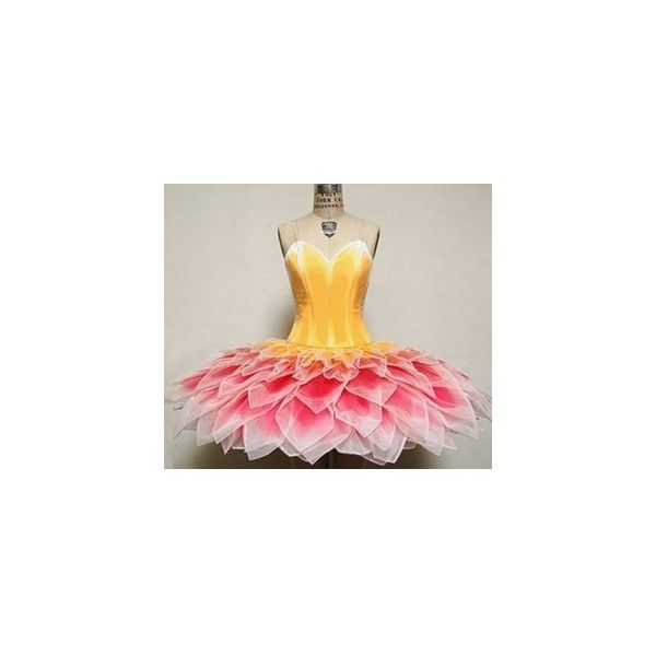 flower girl from primadonna Ballet Costume Inspiration ❤ liked on Polyvore featuring costumes, costume, dresses, outfits, ballerina halloween costume, ballet costumes, ballerina costume, ballet halloween costumes and blossom halloween costume