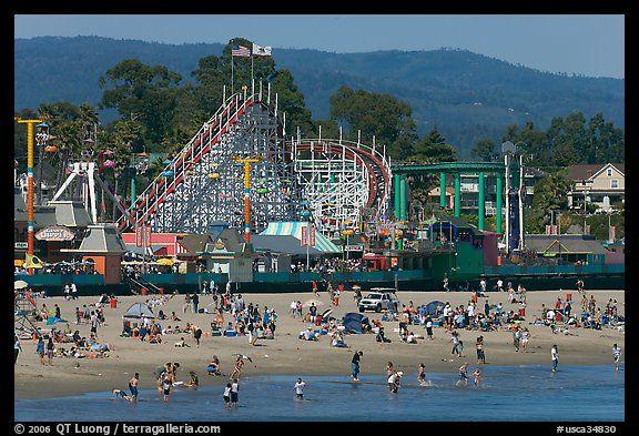 Santa Cruz, CA: Santa Cruz California, Beaches Boardwalk, Favorite Places, California Boardwalk, Cruz Beaches, Turquoise Blue Cross, Boardwalk Rollers Coast, Santa Cruz Boardwalk, Stompin Ground