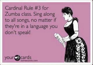 i can't speak spanish, but i can sing in spanish!
