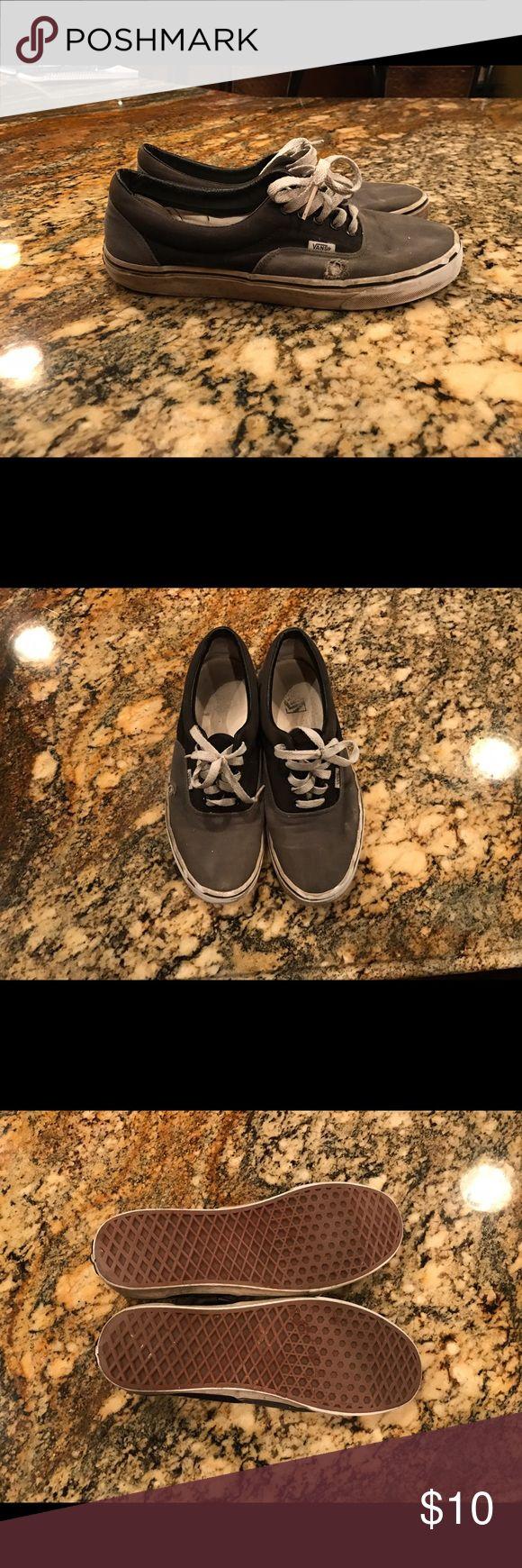 Vans Skate Shoe Black and Grey Vans! Vans Shoes Sneakers