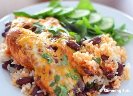Spicy Mexican Chicken Bake