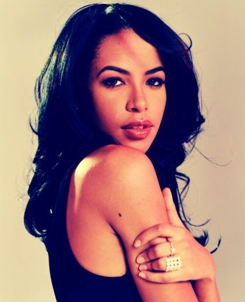 Aaliyah: Singer and actress. Gone too soon