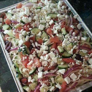 Weight Watchers Greek Pasta Salad