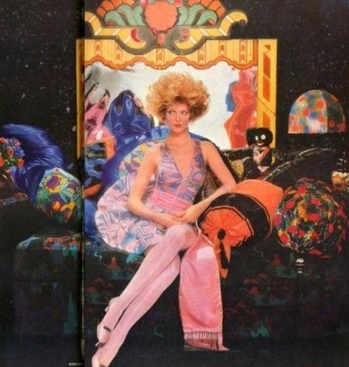 Grace Coddington for Vogue, 1968. Photo by Barry Lategan.