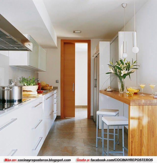 1000  images about ideas de cocinas pequeñas on pinterest ...
