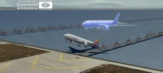 """A former pilot has created an animation that depicts exactly what happened on Saturday when Asiana Airlines flight 214 crashed at San Francisco International Airport, killing two and wounding 180 others."""
