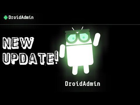 Droid admin/Filelinked update! Pin code/lock! - YouTube