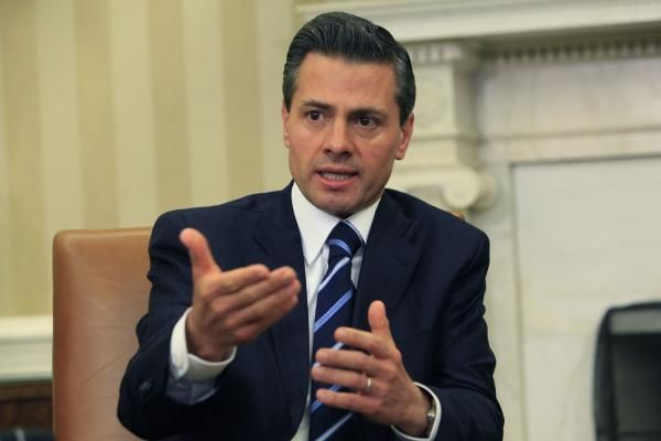 Andrew V. Pestano Jan. 26 (UPI) -- Mexican President Enrique Peña Nieto said he canceled his meeting with Donald Trump following the U.S.…