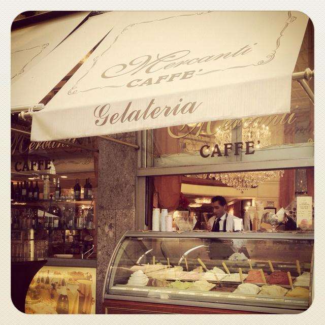 Milan, Italy:  Gelato?! Count me in