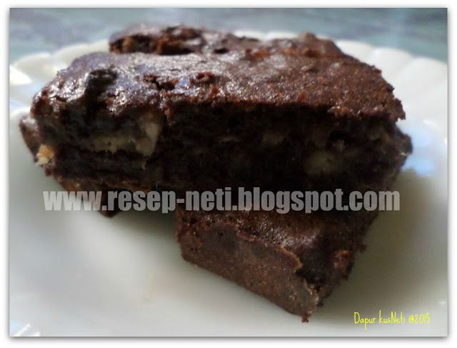 bananas brownies recipe at kusNeti kitchen @2015