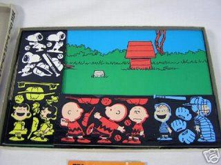 Colorforms, I love Peanuts !