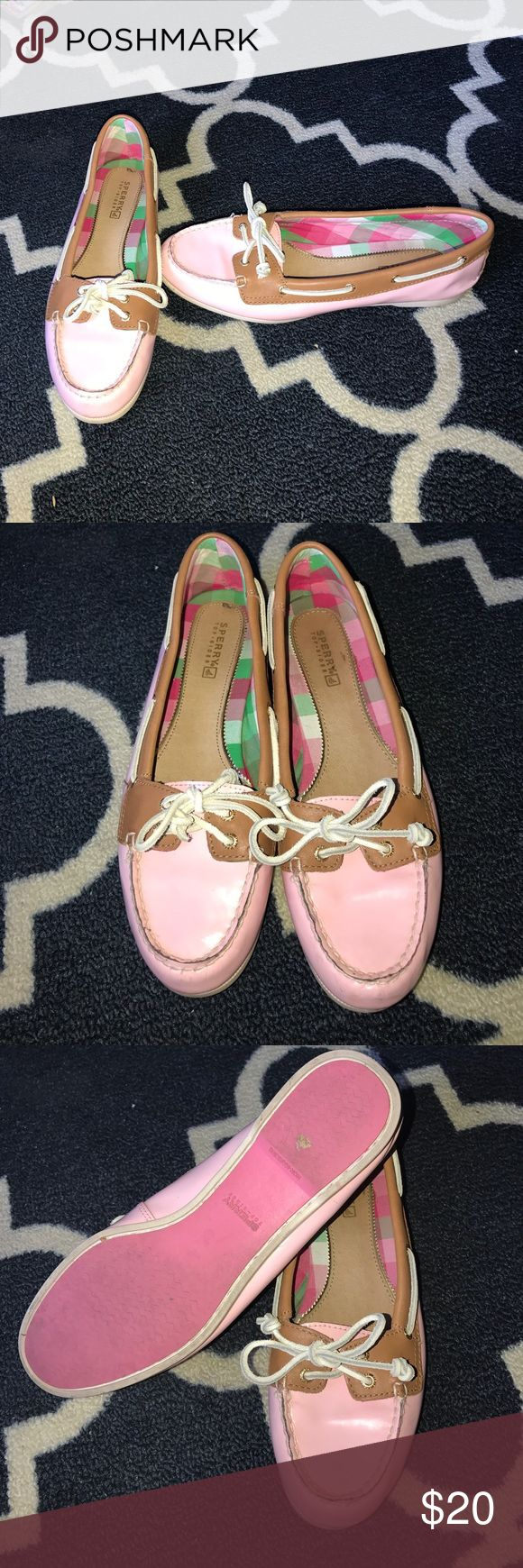 Pink Sperry's Sold...Perfect for Spring pink Sperry's Sperry Top-Sider Shoes Flats & Loafers
