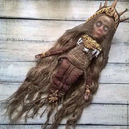 Коллекционные куклы ручной работы. Афанасия. Морская ведьма. Авторская…
