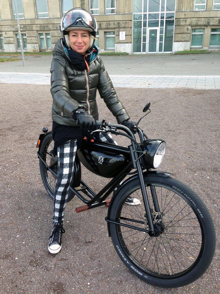 Ook de exclusieve dames hebben de Meijs Motorman ontdekt in Duitsland