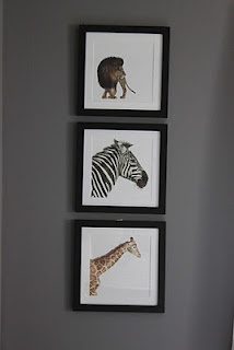 Easy nursery art from a picture book.