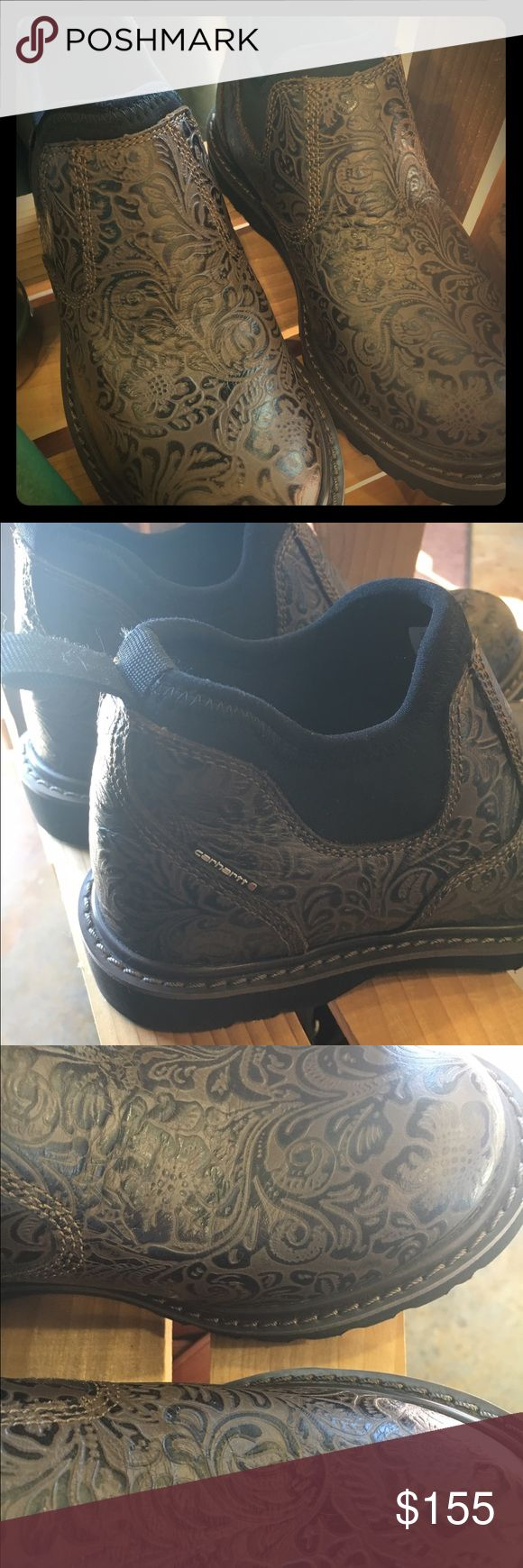 Carhartt paisley Romeo boot Brand new never worn. Super comfy boot Carhartt Shoes Ankle Boots & Booties