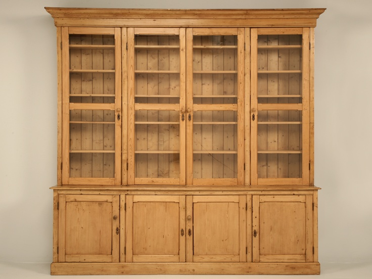 Antique pine China Cabinet by British Traditions. fantastic piece - 52 Best Vintage Pine Images On Pinterest Antique Pine Furniture