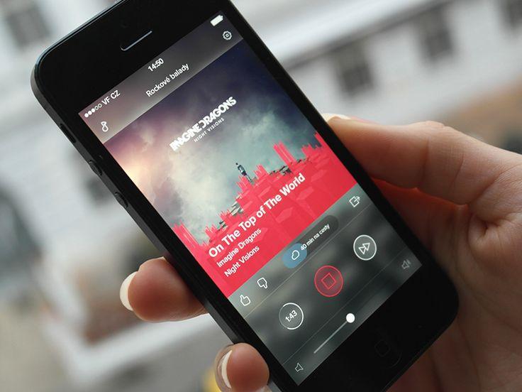 YouRadio  #ui #ux #ipad #ios #design