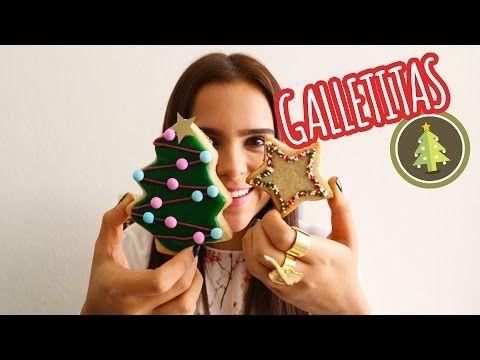 3 TIPOS DE GALLETAS PARA NAVIDAD ♥ - Yuya - YouTube
