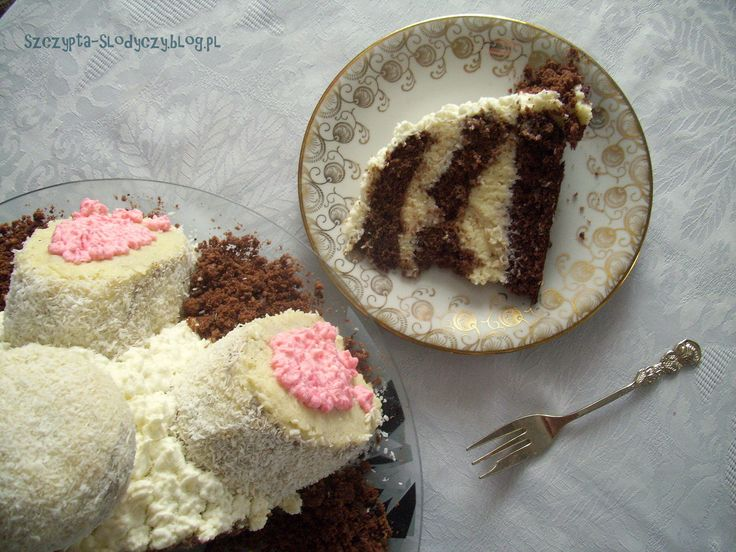 Tort Zajączek – z kremem kokosowym PRZEPIS