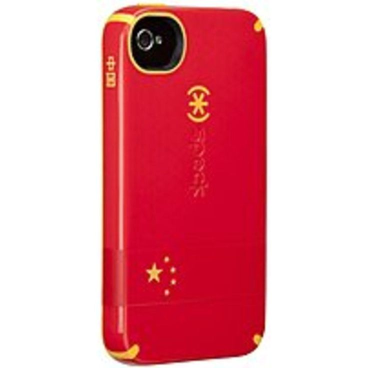 Speck Products SPK-A1385 CandyShell Case for iPhone 4S - China Flag - Red, Yellow