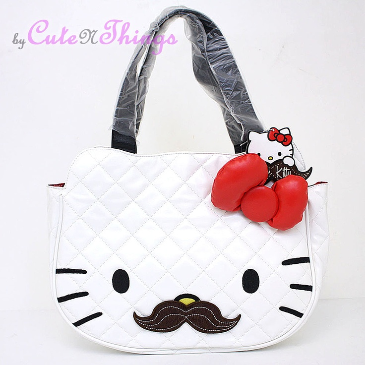 16 best Mustache/hello kitty images on Pinterest | Hello kitty ... : hello kitty quilted purse - Adamdwight.com