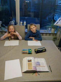 Schrijfgelukjes: Gezinsavond: Jezus bid en zweet bloed