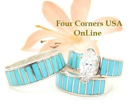 native american navajo wedding rings - Navajo Wedding Rings