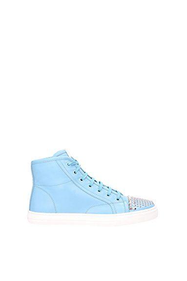 Sneakers Gucci Damen Leder Himmlisch 370875BBD004503 Himmlisch 37EU