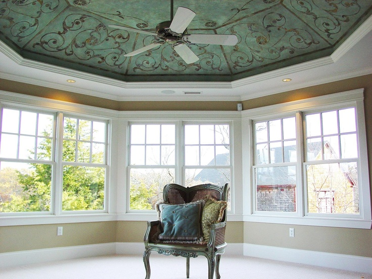 Foyer Tray Ceiling : Best images about beautiful painted tray ceilings on