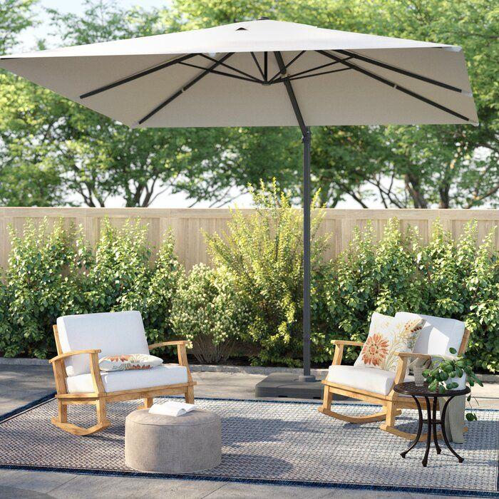 Boracay 10 Square Cantilever Umbrella Reviews Joss Main Patio Umbrellas Patio Outdoor Patio