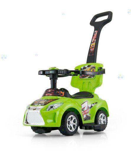 JEŹDZIK KID 3 w 1 GREEN ZIELONY #B1 - Jeździki - Pojazdy dla dzieci