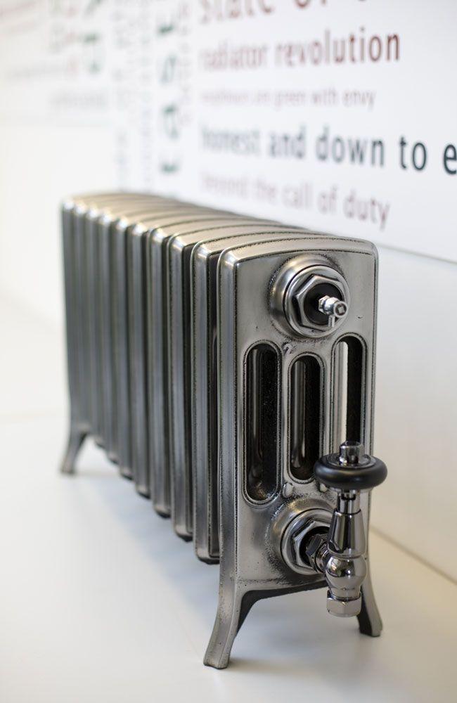Forge radiator - lacquered bare cast iron finish