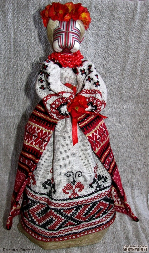 Traditional Costume Ukraine. Лялька-мотанка
