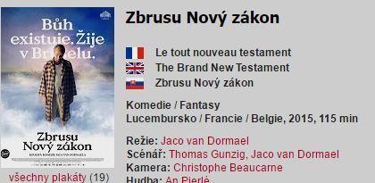 Zbrusu Nový zákon