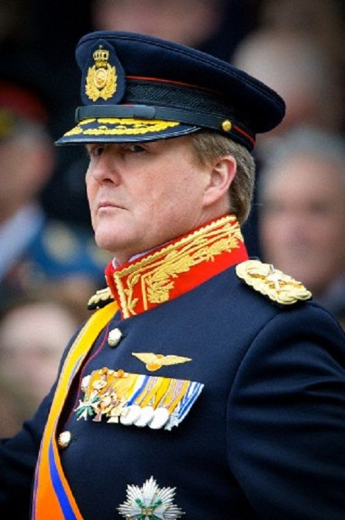 King Willem-Alexander of The Netherlands attends the jubilee concert of the Royal Netherlands Army to celebrate the 200th anniversary at the Schouwburg in The Hague, The Netherlands,  09 Jan 2014.